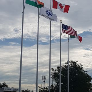 Our flags flying high with pride