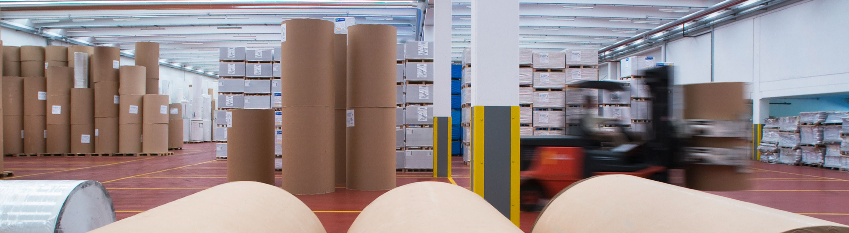 Consumer paper products shipping